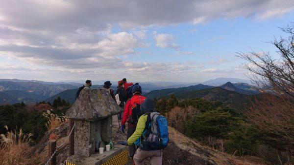 岩見ヶ丘公園の頂上