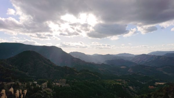 岩見ヶ丘公園からの展望